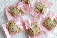 動物の形のさつまいものクッキー