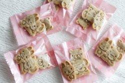 画像1: 動物の形のさつまいものクッキー